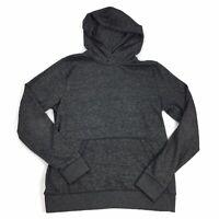 Old Navy Size MEDIUM Womens Dark Gray Loose Fit Active Wear Hoodie M