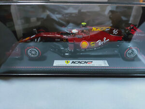 Ferrari SF1000 G.P. Tuscany C. Leclerc avec vitrine BBR 1/18 - 500 Ex