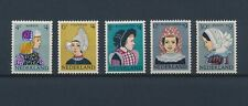 LN22612 Netherlands traditional clothing folklore fine lot MNH