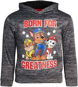 PAW PATROL CHASE MARSHALL RUBBLE Sweatshirt Fleece Hoodie Boys Sz 4 5 6 or 7 $25