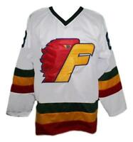 Any Name Number Size Philadelphia Firebirds Retro Custom Hockey Jersey White