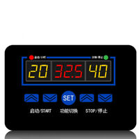 Durable Digital Temperature Controller Thermostat Control Sensor Switch AC 220V