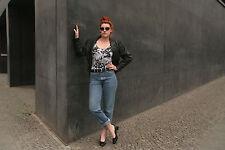 Damen Body Top Unterwäsche 90er TRUE VINTAGE 90s s/w woman body jungle tigers