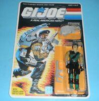 *RECARDED* 1986 GI Joe Dial Tone Figure Complete Sealed *CUSTOM File Card Back*