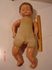 LARGE VINTAGE DOLL EFFANBEE COMPOSITION ARMS LEGS HEAD 18 INCHES SLEEP EYES