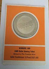 Winners Inn Dollar Gaming Token Coin Medal Casino Chip