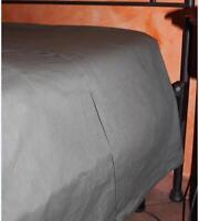 LENZUOLA sopra Singolo cm 160x300 104 COLORI COTONE 100% ANCHE SU MISURA