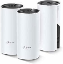 TP-Link 3-Pack Mesh WiFi System, Seamless Roaming, Deco M4 3-Pack (Refurbished)