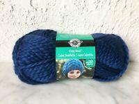 Loops & Threads Cozy Wool Super Bulky Wool/Acrylic Yarn - 1 Skein Sapphire