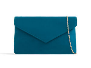 Suede New Evening Clutch Bags Prom Party Wedding H2350