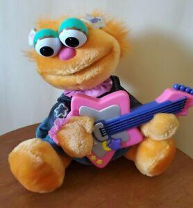 Rare Sesame ZOE Guitar Vintage Fisher Price Plush Toy