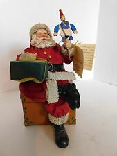 Fabriche by Kurt Adler Santa with Puppet Retired-Possible Dreams Style