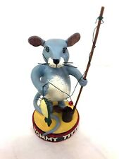 "Otagiri Bush Prisby  ""Fishing Mouse Figurine"" Tommy"
