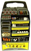 400pc Rolson Mini Rotary Power Drill Hobby Accessory Kit Fits Dremel Multi Tool
