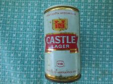 Castle Lager Pull Top Bottom Opened Steel Can So. African Beer