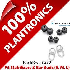 Plantronics per Kit 2 x Stabilizzatori + Orecchio Gel Boccioli (S,M,L) Backbeat