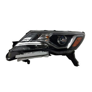 New Aftermarket Driver Side Headlight Assembly 260609PF1A CAPA