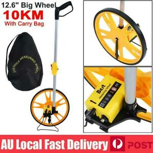 10KM Distance Measuring Wheel Meter Trundle Walking Working Tape Measure Tool A