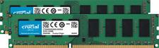 Crucial 8GB UDIMM Desktop Memory Kit (2x4GB) DDR3L-1600 PC3-12800 1.35V 240-Pin