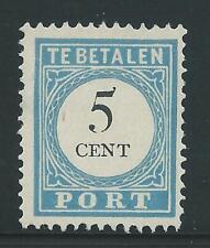 1881TG Nederland Portzegel Postfris  P6D Type lll Tanding 12 1/2 zie foto's.