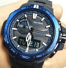 CASIO PROTREK TITANIUM ALTI THERMO BARO COMPASS ATOMIC SOLAR WATCH PRW6000SYT-1