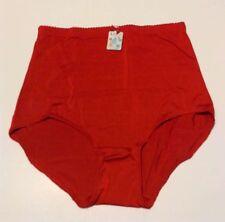 LUCII WOMEN'S BRIEF 5XL STRETCH PANTY / UNDERWEAR RED COLOR NWT