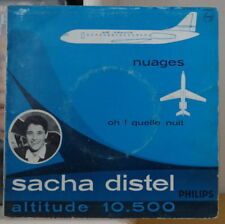 SACHA DISTEL ET SON TRIO NUAGES ALTITUDE 10.500 FRENCH EP 1959 PHILIPS B372.662