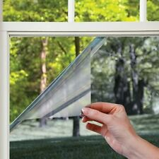 Privacy Cling Film Glass Residential Window Cover Mirror Static Glare Decor Home
