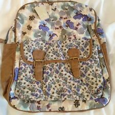 Monsoon Accessorize Leila Blurred Pansy Backpack Bnwt Multi Coloured