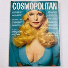 Vintage Cosmopolitan Magazine - August 1971 - Gunhild Cover - Francesco Scavullo