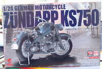 1941 Zündapp KS 750 Solomaschine 1:24 Asuka 24006