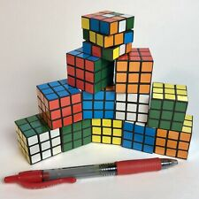 12 Pack 3x3 mini Rubix cubes Speed Cube Brain Game Twist Puzzle Educational