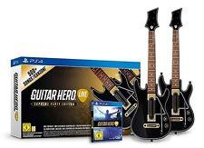 Guitar Hero - Live inkl. 1 x Spiel + 2x Gitarre für Playstation 4 PS4  NEUWARE