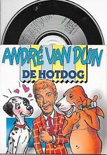 ANDRE VAN DUIN - De Hotdog / Moe Kangeroe CD SINGLE 3TR CARDSLEEVE 1989 RARE!