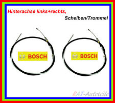 2 x Handbremsseile BOSCH Li+Re BMW 5 (E39) 5 Touring (E39) Scheiben/Trommel