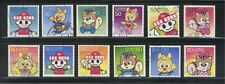 JAPAN 2003 POSTAL SERVICE MASCOT CHARACTERS COMP. SET OF 12 STAMPS IN FINE USED