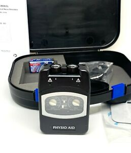Physio Aid tens machine, new model unit, complete kit, pain relief from physio