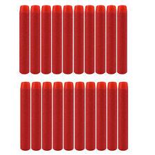 200pcs Red Refill Bullet Darts for Nerf N-strike Elite Series Blasters 7.2cm
