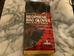 New -Century Neoprene Bag Boxing Gloves- Size L- Black/Red
