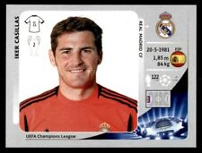 Panini Champions League 2012-2013 Iker Casillas Real Madrid CF No. 229