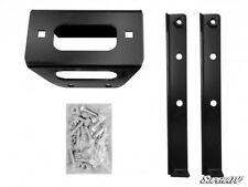 SUPERATV Polaris RZR Winch Mounting Plate For 3500 Lb. Winches