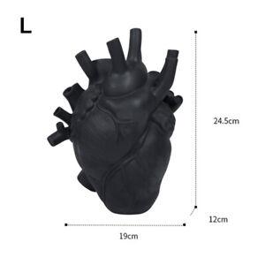Anatomical Heart Shape Flower Vase Nordic Style Flower Pot Art Vases  Plant Pot#