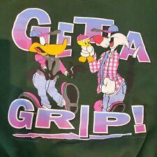Vtg 1996 Warner Bros Get a Grip Looney Tunes Crewneck Sz XL Tweety Sylvester