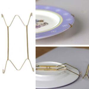 Plate Spring Flexible Wire Wall Display Hanger Holder Hanging Art Decor 13UK
