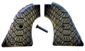 Fits Heritage Arms Rough Rider GRIPS .22 & .22 MAG models Black Snake Pattern 