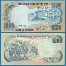 South Vietnam 1000 Dong P 34 a ND (1972) UNC Low Shipping! South Viet Nam