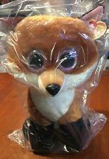 Ty Beanie Boo S Ty36827 - Plush Fox Slick - 41 Cm
