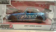 JADA 1:24 W/B - METALS - JDM TUNERS - 2001 HONDA S2000 Hardtop BLUE VHTF color