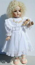 """Bru Doll Antique French Blonde Reproduction 19.5"""" Artist Made"""