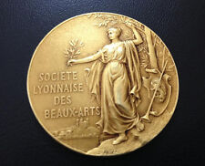 FRENCH / Bronze Medal / SOCIETY of ART / 1944 / 45 mm / M60